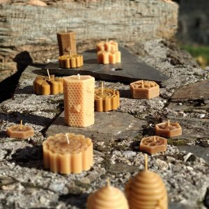 Velas cera de abeja